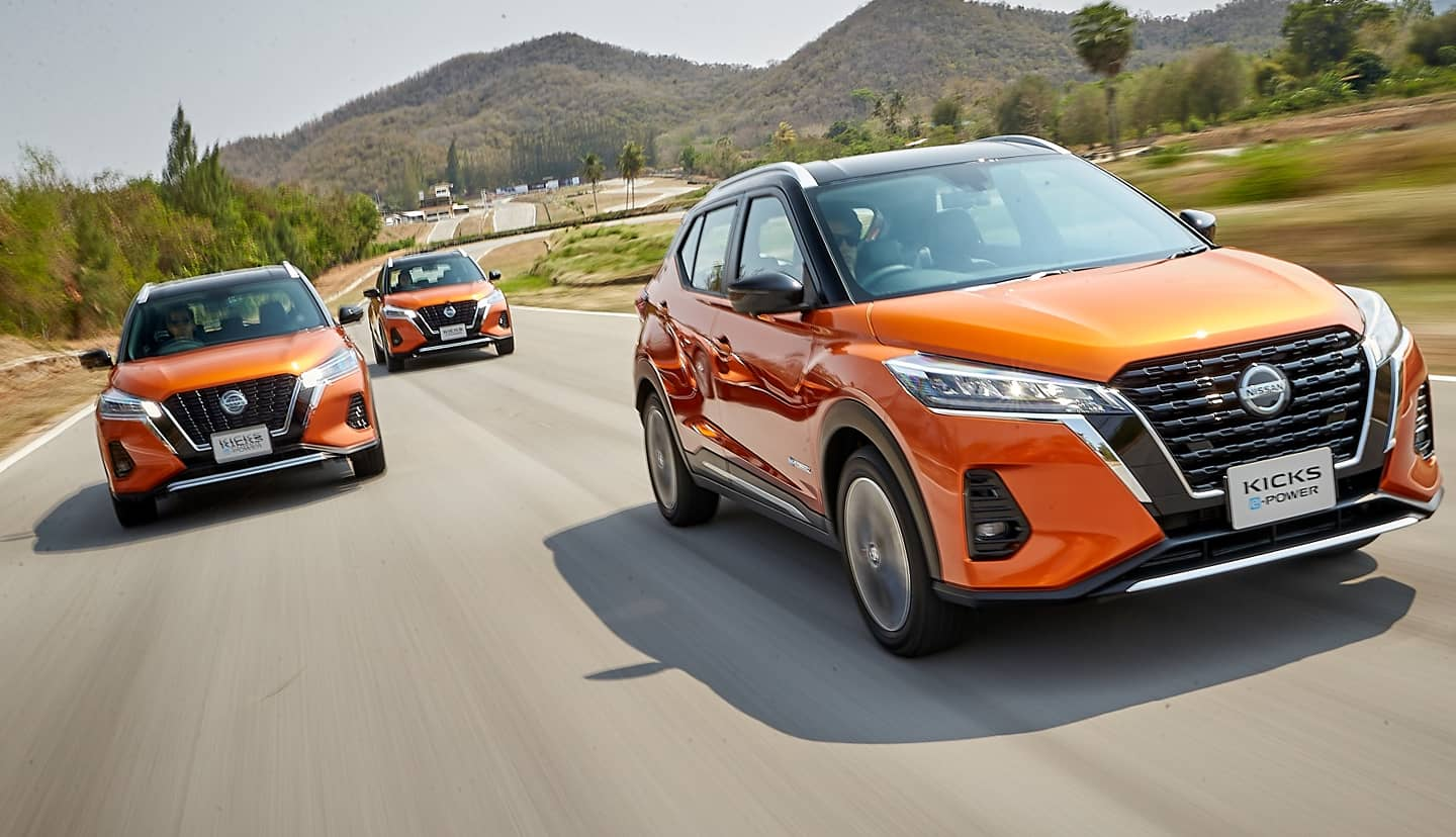 La nouvelle Nissan kicks e-power 2021