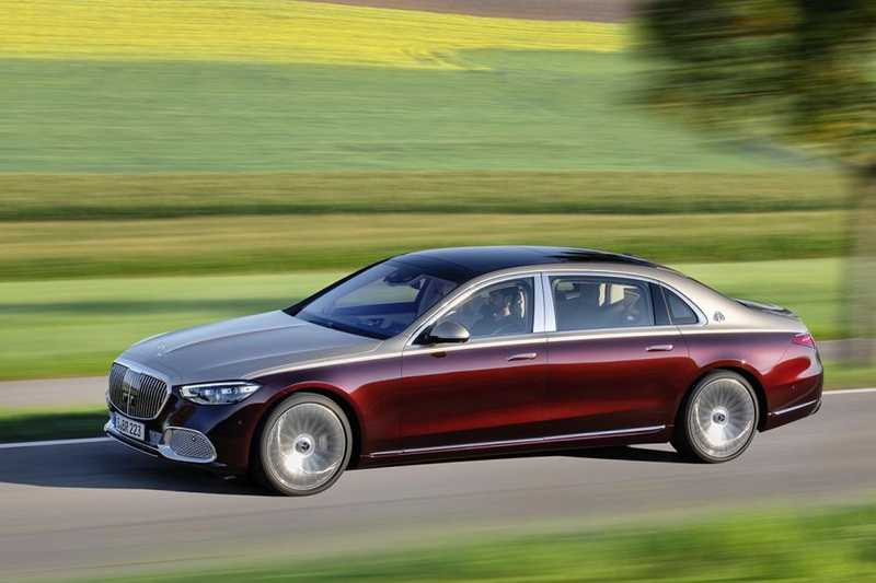 Mercedes Classe S 2021 Maybach version