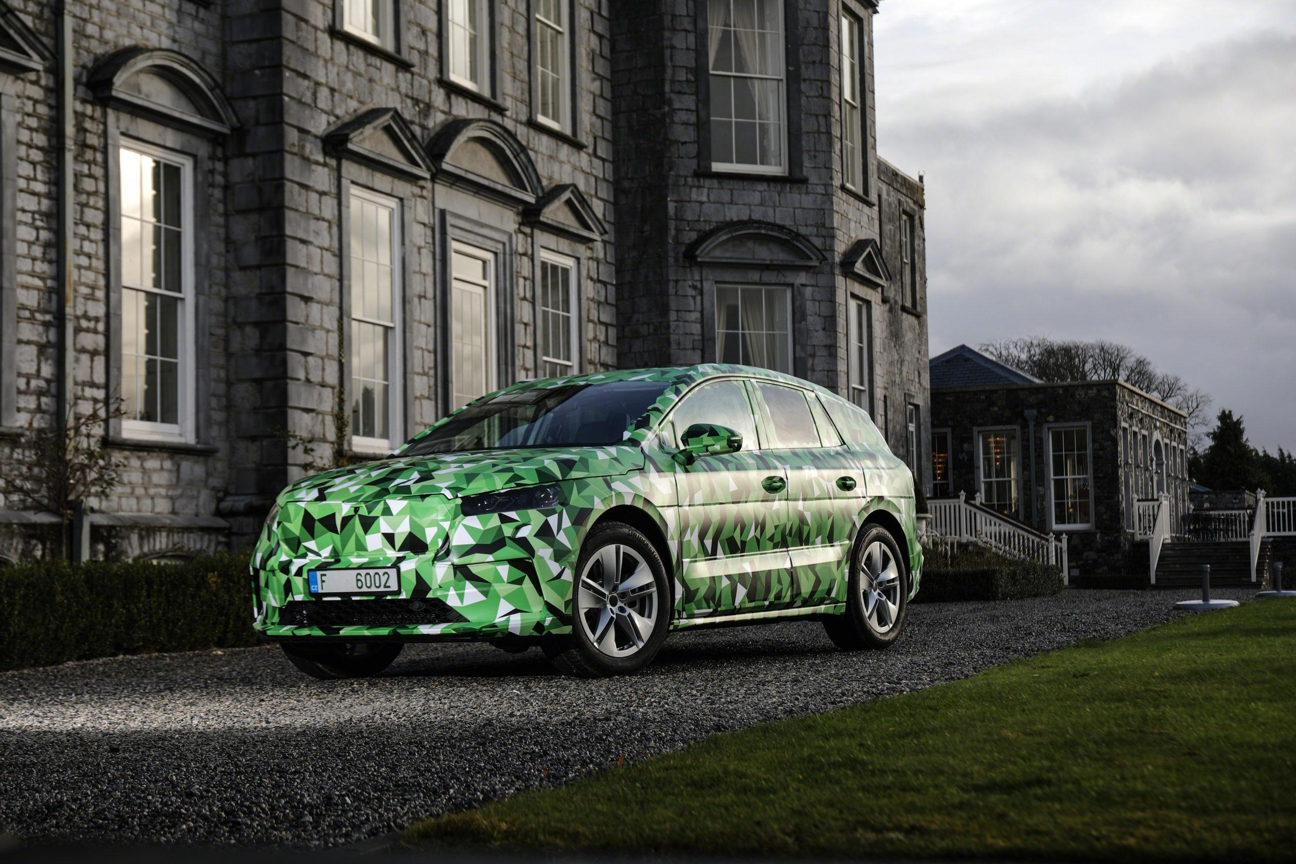 Le premier video SKODA ENYAQ iV SUV 100% électrique